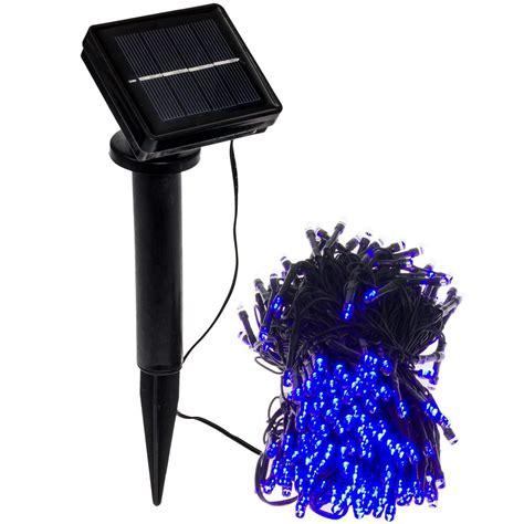 28ft outdoor string christmas lights greenlighting 250 light 80 ft solar powered integrated led blue outdoor string lights