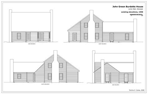 House Plan Elevations by House Plan Elevation Drawings
