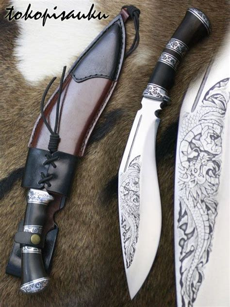 Pisau Kukri toko pisau ku kukri bhojpuri leather knife sheaths