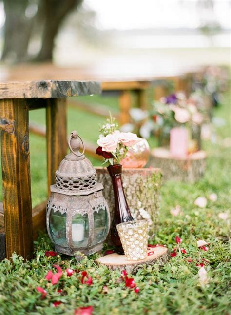 Vintage Garden Wedding Decor 30 New Ideas For Your Rustic Outdoor Wedding Deer Pearl Flowers