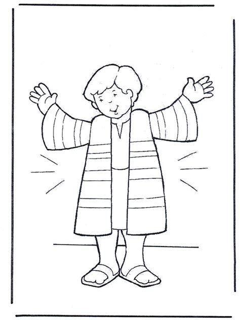 printable bible coloring pages joseph joseph s coat coloring sheet joseph coat of many