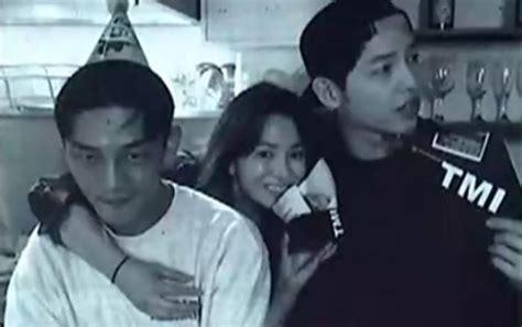 yoo ah in wedding yoo ah in song hye kyo and song joong ki show off close