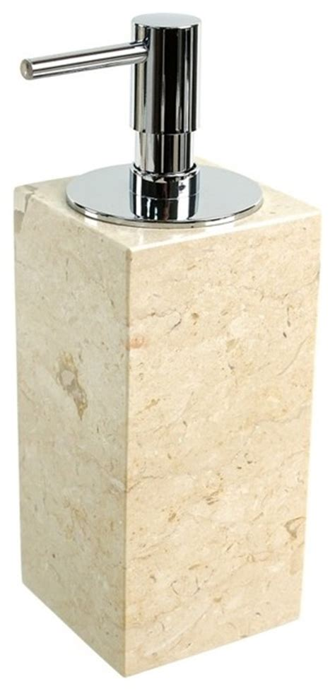 beige bathroom accessories beige marble soap dispenser contemporary bathroom