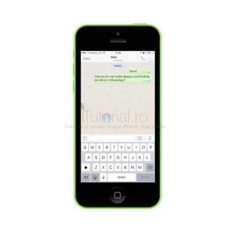 tutorial de whatsapp despre confirmari de citire 238 n whatsapp messenger pe iphone