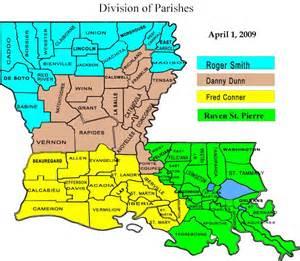 Louisiana Map With Parishes by Pics Photos Parish Map Louisiana