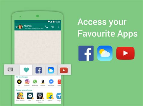 whatsapp themes and fonts bobble keyboard gif stickers android apps on google play