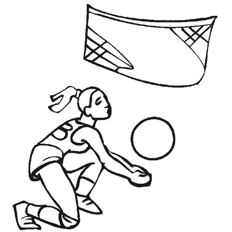coloring pages of volleyball players olympics coloring pages women s volleyball coloring pages