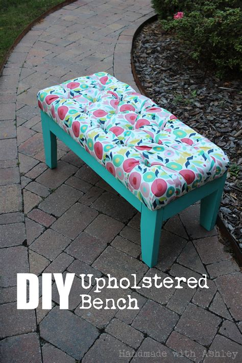 upholstered bench diy diy upholstered bench november s fffc contest sponsored