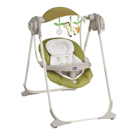 chicco swing chicco baby swing polly swing up 2013 lime buy at