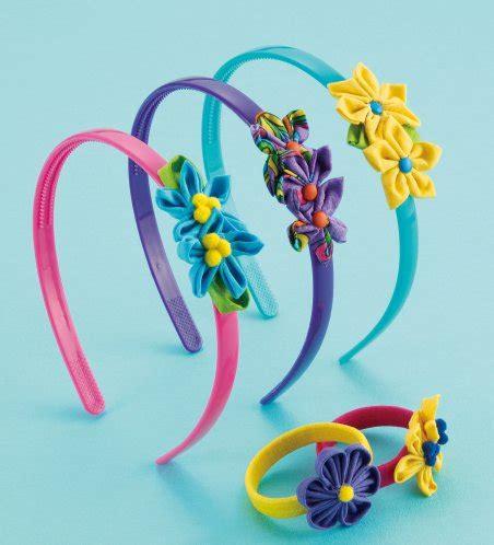 Clover Templates Flowers by Clover Kanzashi Flower Templates Flower Inspiration