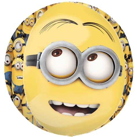 Despicable Me 16 16 quot despicable me minions orbz spherical balloon