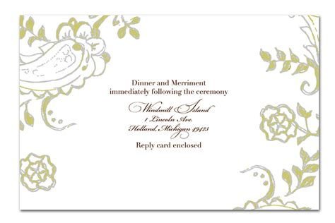Gift Card Design Template - handmade wedding invitation template design invitation templates