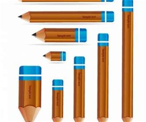 Pensil Kartun Dengan Penghapus Rubber Sets Of Pencil Spe029 tanda kayu vektor misc vektor gratis gratis