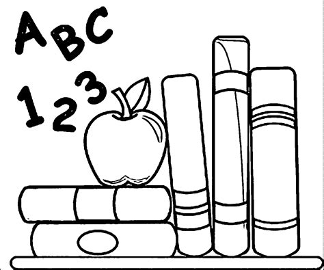 Back To School Coloring Pages   coloringsuite.com