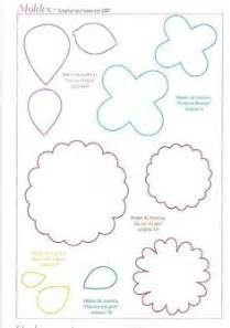 diy flower template 1000 images about diy flower templates on