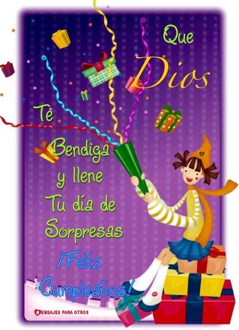 que dios te bendiga y llene tus d 237 as de felicidad 117 best images about birthday lovers on pinterest
