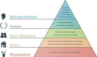 Image result for abraham maslow pyramid