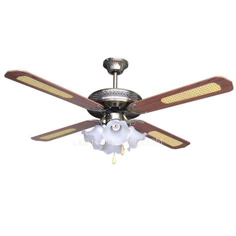 vintage ceiling fan with light bronze finish blade lights vintage ceiling fan with lights