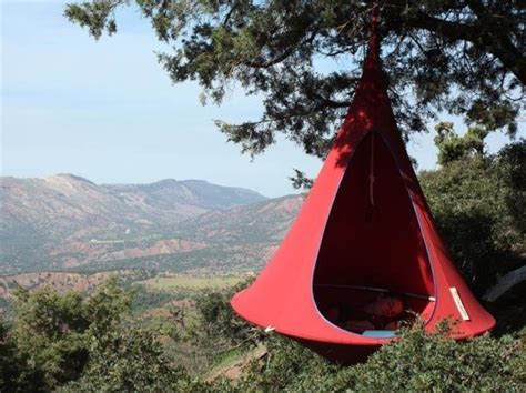 Tree Sleeping Hammock Cacoon Is A Hanging Tent That Lets You Get Away From It