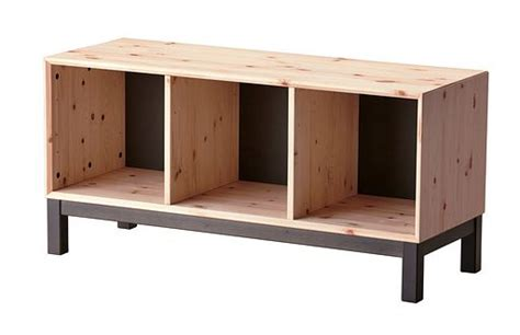 nornas bench ikea bench bench with storage and pine on pinterest