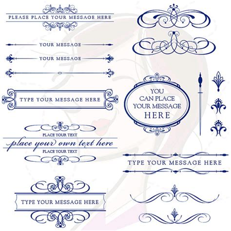 Navy Wedding Clipart by Navy Blue Vintage Clipart Clipart Suggest