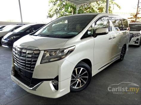 2015 Toyota Alphard 3 5 3 5 V6 Na toyota alphard 2015 g executive lounge 3 5 in kuala lumpur