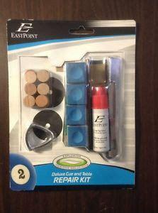 pool table repair kit eastpoint deluxe pool cue table repair kit leather tips