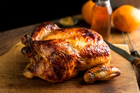 roast whole chicken a nutritious dish of roasting chicken