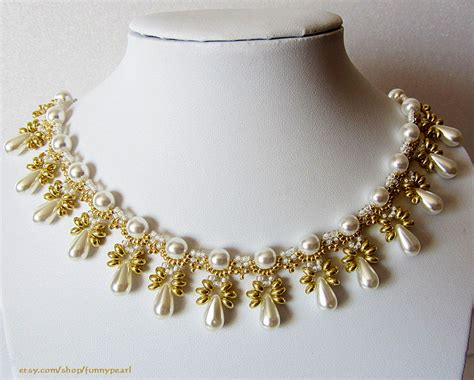 free pattern for necklace elettra by lyubov buntova