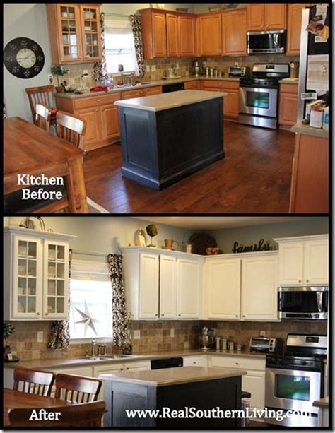 22 best images about transforming oak cabinets on