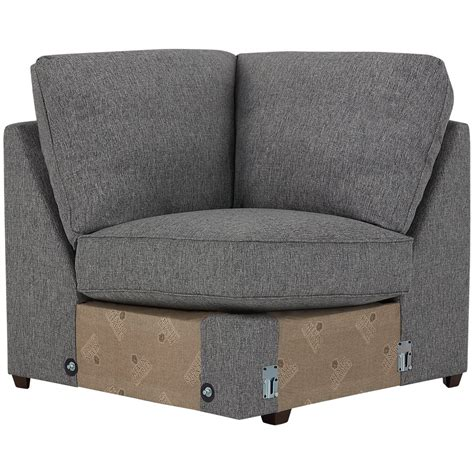 city furniture asheville gray fabric medium right chaise
