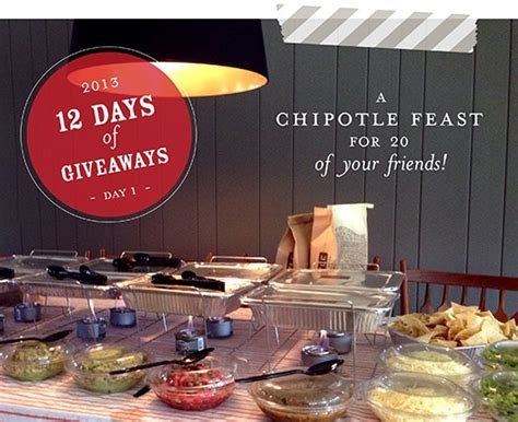 Chipotle Giveaway - day 1 giveaway chipotle party iheartcleveland com iheartcleveland com