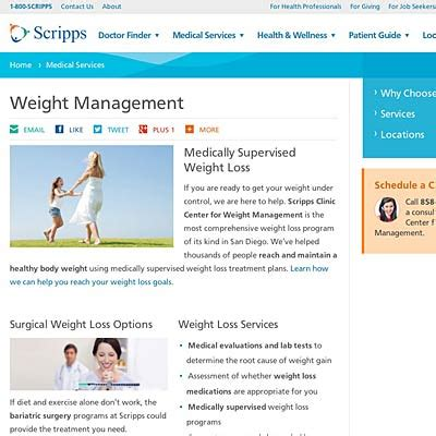 weight management scripps the center for weight management at the scripps clinic