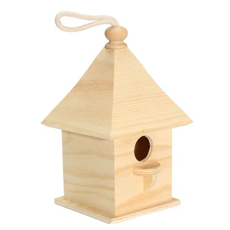 online buy wholesale wooden bird house from china wooden