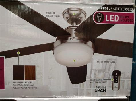 hunter avia 54 led indoor ceiling fan costco hunter ceiling fan pranksenders