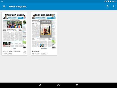 kölner bank app k 246 lner stadt anzeiger e paper android apps on play