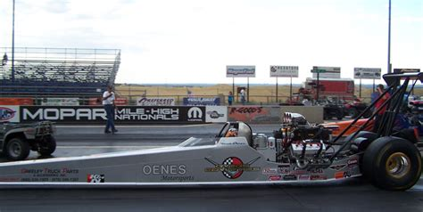 bandimere lights oenes motorsports dragster wins again in fast 16 series at