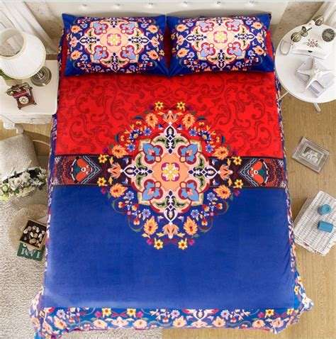 red blue comforter ᗑcotton red blue quilt quilt bedding set king queen twin