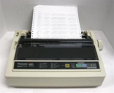 Tinta Dot Matrix Mengenal Beberapa Fungsi Printer Dot Matrix Spesifikasi