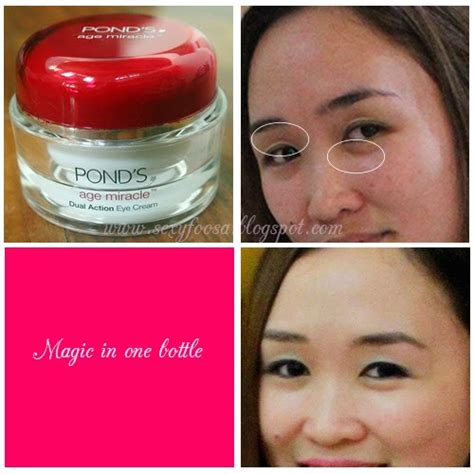 Ponds Age Miracle Serum Review magic in 1 bottle pond s age miracle dual eye