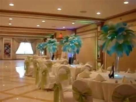 32 Best Images About Beach Themed Hawaiian Themed Surf Ostrich Feather Centerpieces For Rent