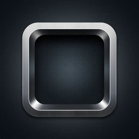 iphone app logo template retina ready ios app icon templates psd free vectors