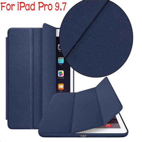 smart cover pro 9 7 promo luxury stand flip smart pu leather cover for pro 9 7