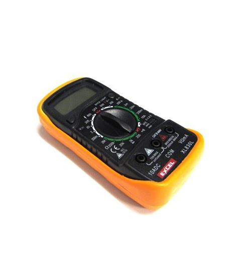 Dijamin Digital Multimeter Xl 830 Etekcity Digital Multimeter Lcd Xl 830l Voltmeter