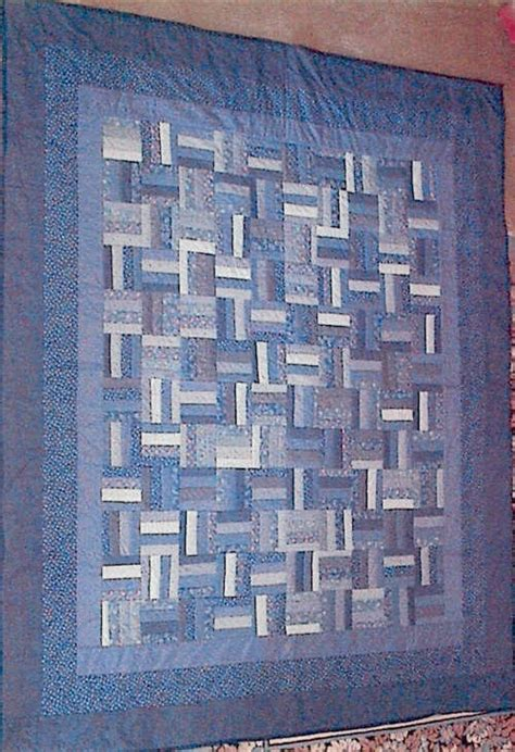 Fence Rail Quilt Pattern by Rail Fence Quilt Quilts Rail Fence