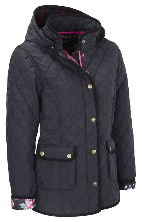 Navy Quilted Coat S by Womens Quilted Jacket 5038 Navy
