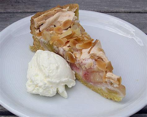 hässliche kuchen rhabarber mandel kuchen rezept mit bild karli4
