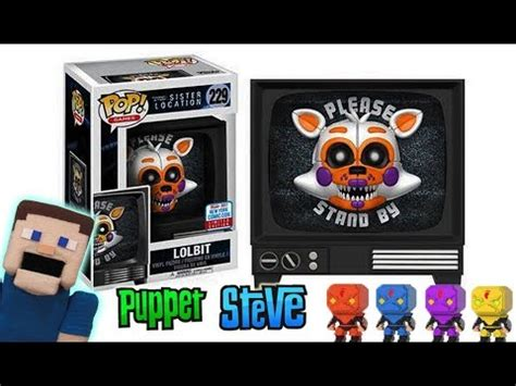 Funko Pop Fnaf Location Lolbit Nycc Exclusive 229 fnaf lolbit exclusive funko pop figure at nycc five nights at freddy s turtles tmnt news