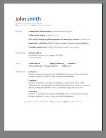best resume templates exles of resumes high school student resume sle