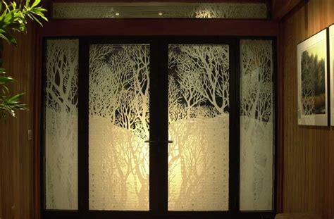Room Dividers Ideas Curtains Art Glass Window Contemporary Windows Seattle By